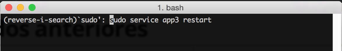 Terminal de Mac OS al ejecutar Reverse-i-search